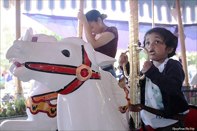 King Arthur Carousel, Disneyland, California.