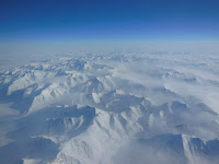 Alaskan Mountains Seen During IceBridge Transit