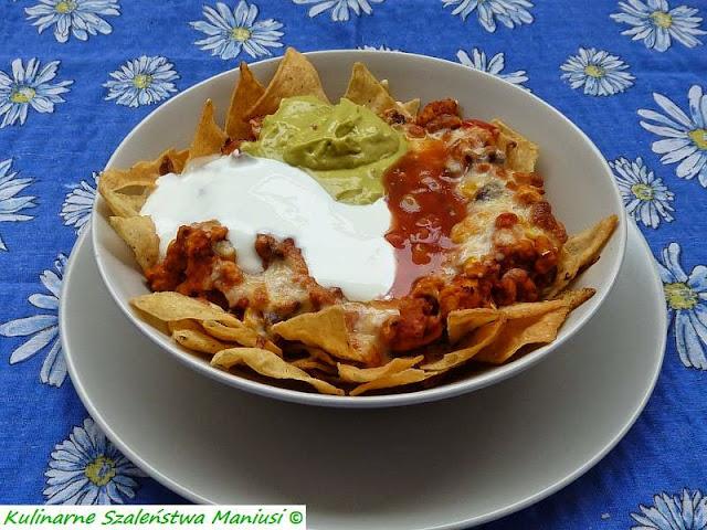 Meksykańskie grande nachos