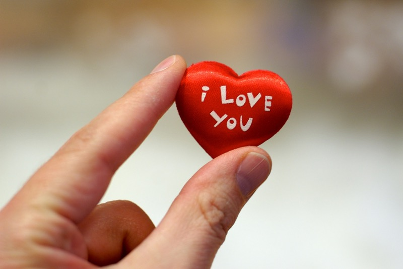 A Very Cute I Love You Photo for Facebook