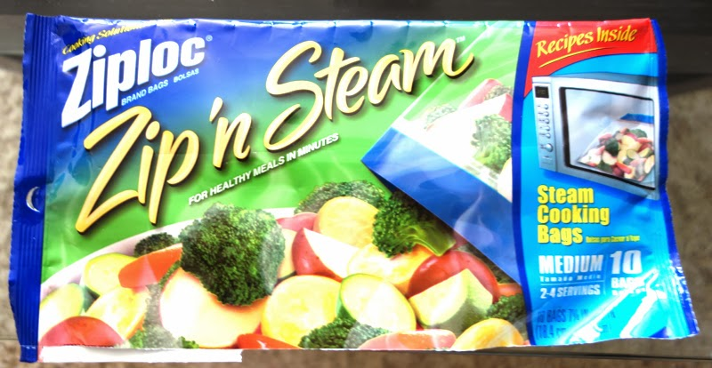 I Put About A Cup And Half To Three Quarters Of The Rice Pilaf Into Ziploc Zip N Steam Bags Seal Them Lay Flat On