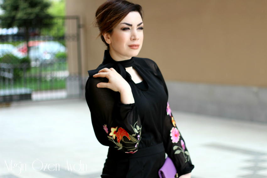 alışveriş-kolları nakışlı tulum-tulumlar-ayakkabı ve clutch-moda blogu-fashion blogs
