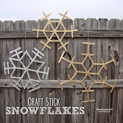 http://www.doodlecraftblog.com/2015/07/christmas-in-july-craft-stick-snowflakes.html