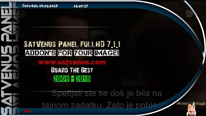 SatVenus Team Backup: OpenHDF 6 3 Build #84 for VU+Zero