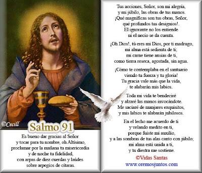 Resultado de imagen para Salmo 92 (91