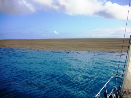 A HUGE AMOUNT OF PUMICE STONE WAS FLOATING TO THE SURFACE OF THE WATER. IT LOOKED LIKE A BEACH. - When This Boat Crew Realized What They Were Seeing, It Was Almost Too Late To Escape Alive!