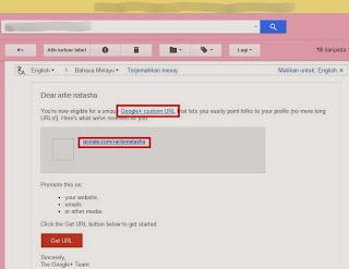 tudung artie natasha google custom URL blog