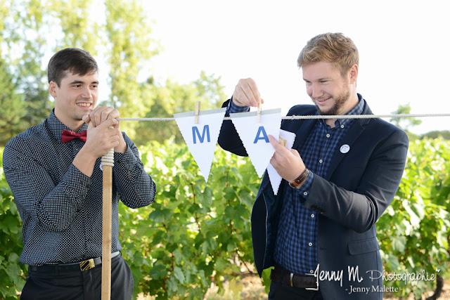 photo reportage cérémonie mariage au milieu des vignes