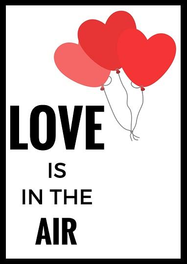 Walentynkowe Plakaty Do Druku Moje Idealia Blog
