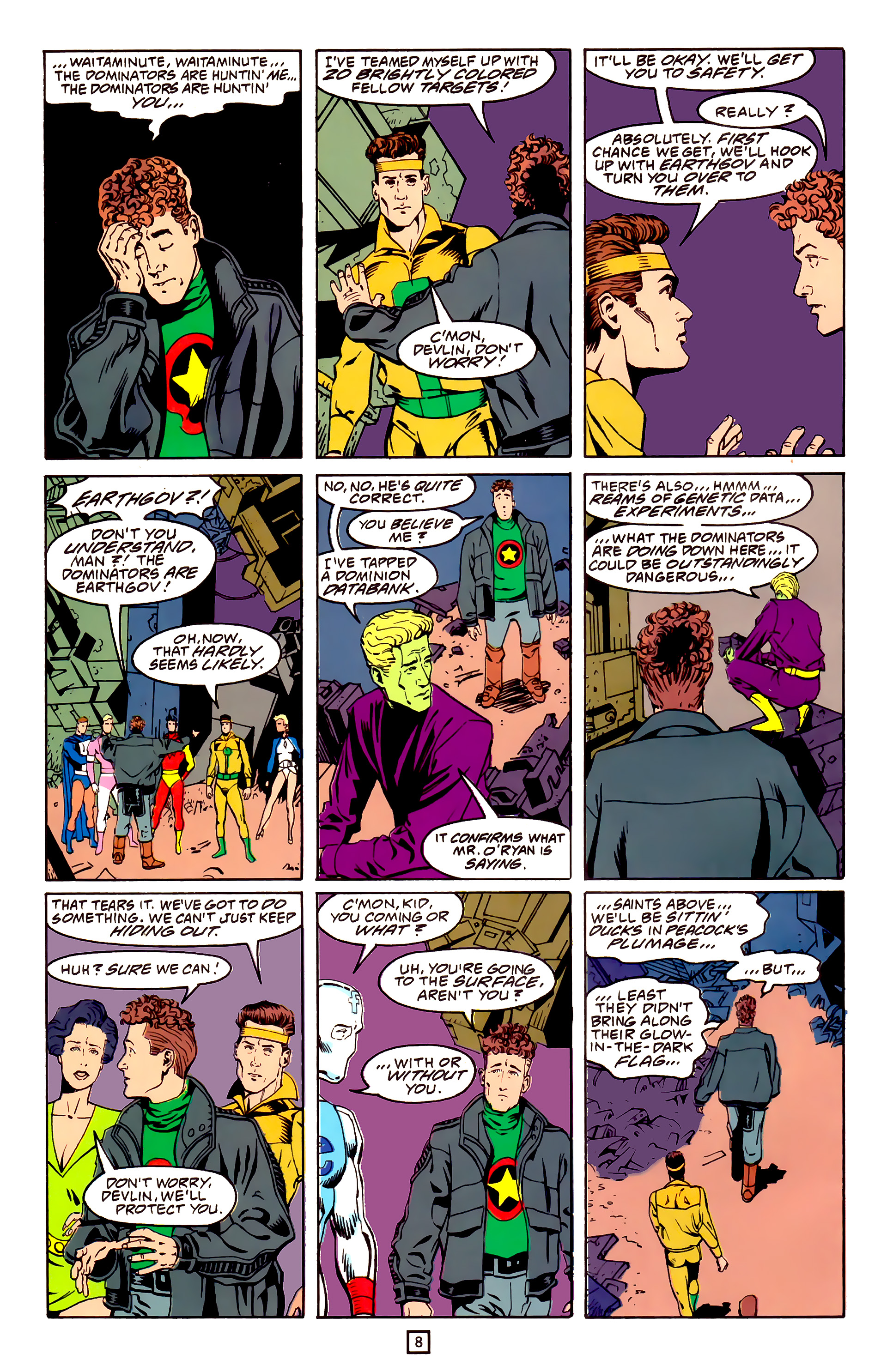 Legion of Super-Heroes (1989) 25 Page 8