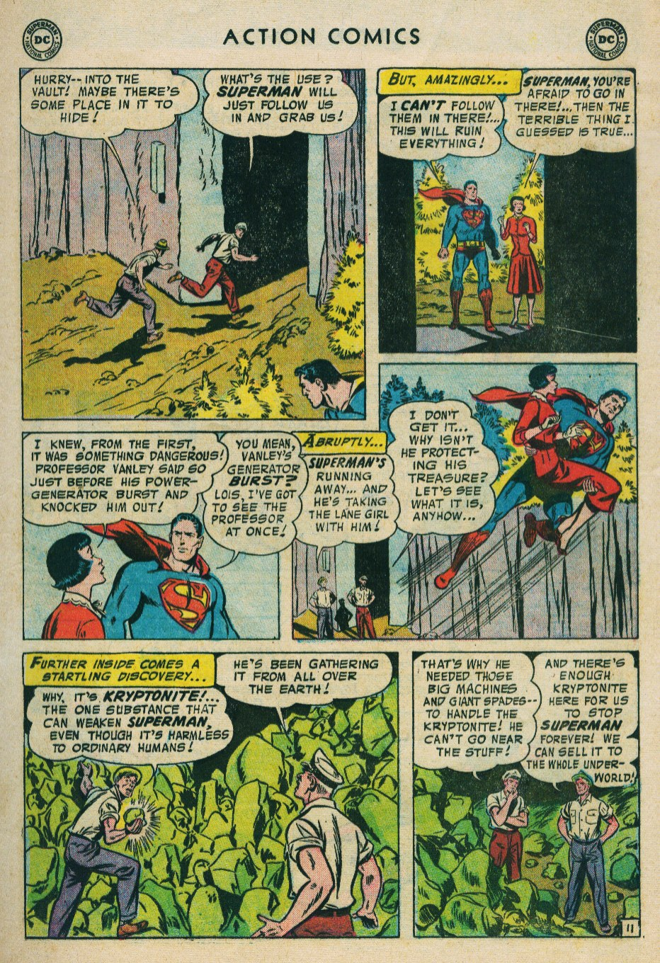 Read online Action Comics (1938) comic -  Issue #224 - 13