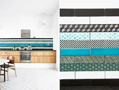 The Cocina Y Muebles: Diseño de Cocinas con Azulejos - Cerámicos