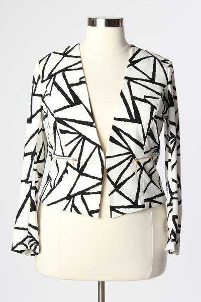 Abstract Blazer Curves on a Budget for Society+