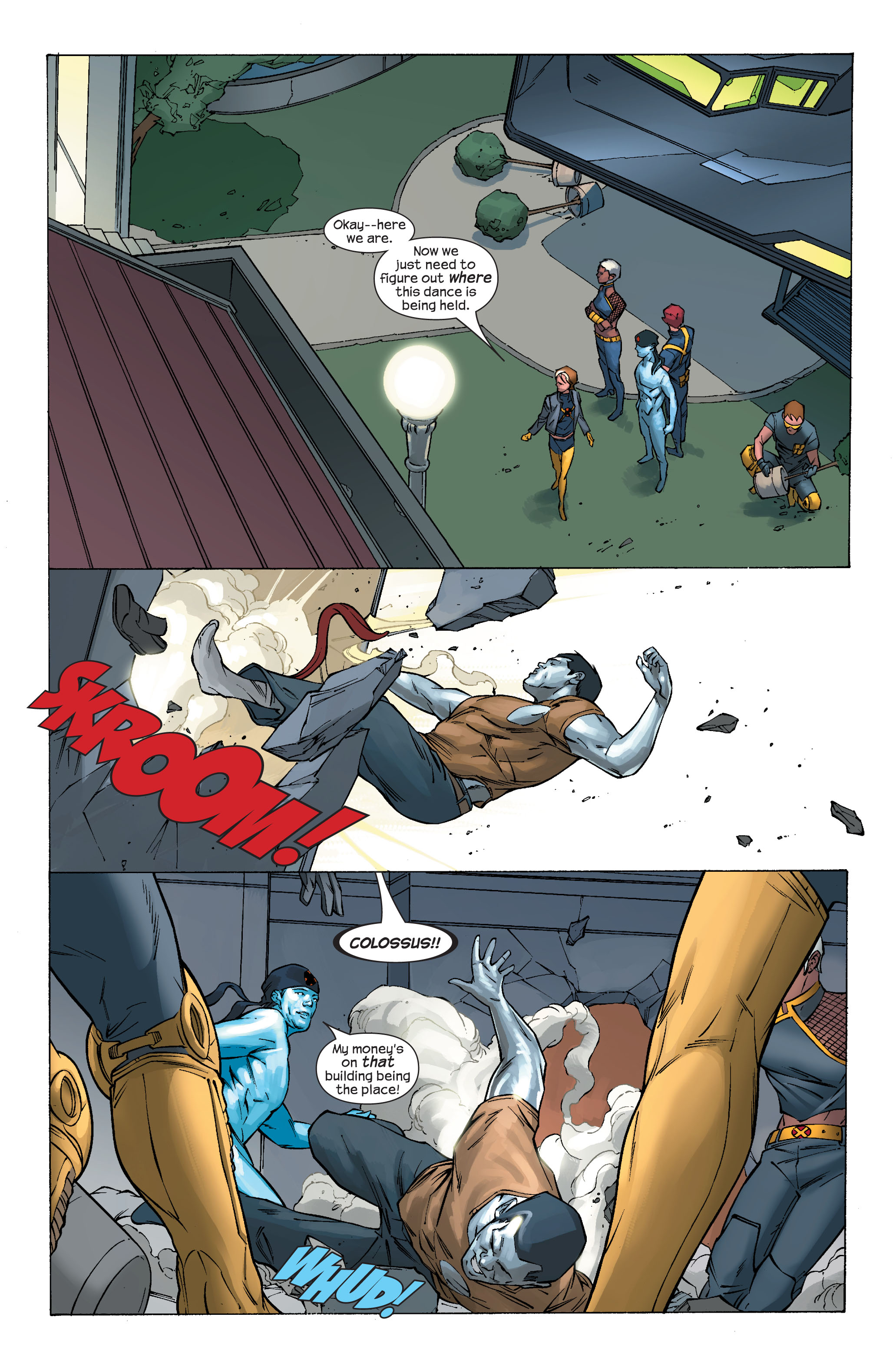 Read online Ultimate X-Men comic -  Issue #70 - 9