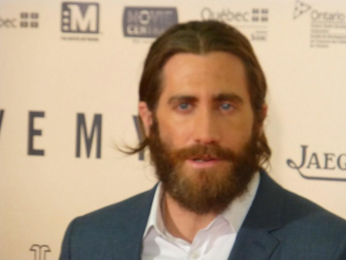 Wet Dark And Wild Eureka S Report Jake Gyllenhaal Premieres Enemy