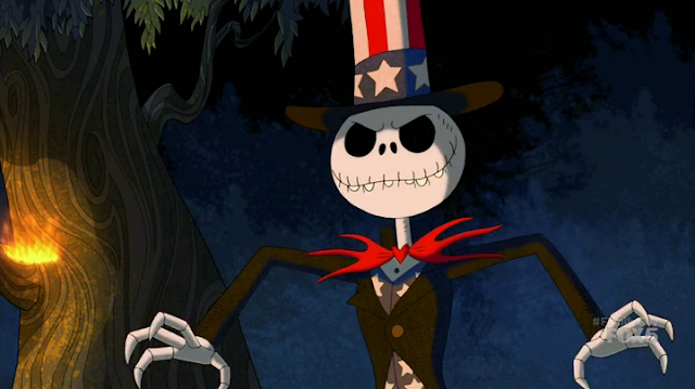 Family Guy: Tim Burton's 4th Of July