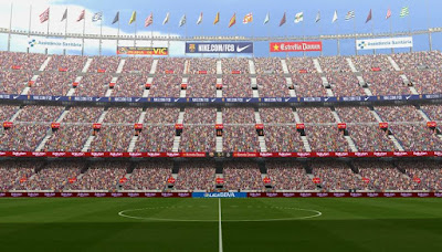 PES 6 Stadiums Camp Nou ( UCL / LaLiga ) Season 2018/2019