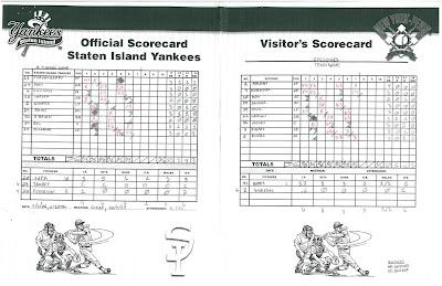 Cyclones vs. Yankees 1, 07-07-06