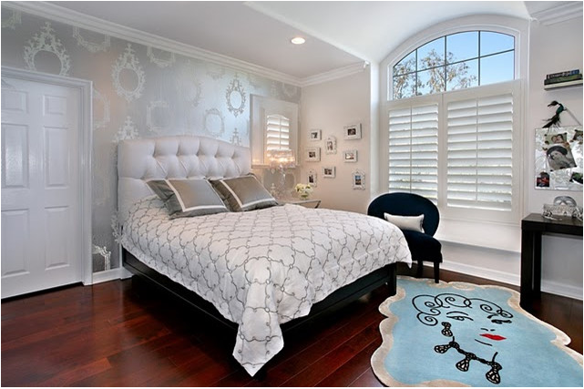 glamorous teen girl bedroom ideas | Glamour Teenage Girl Room Ideas | Exotic House Interior ...