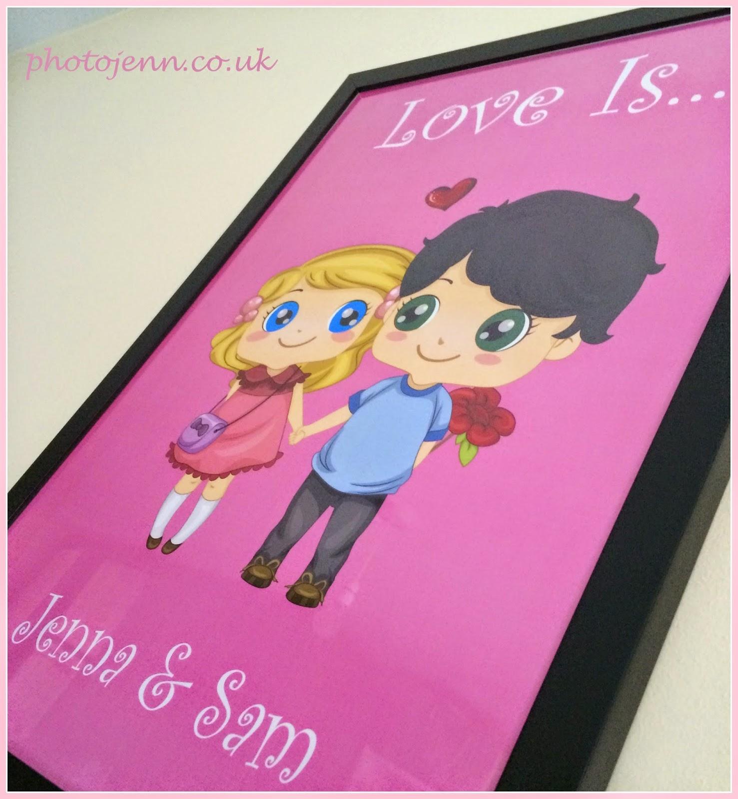 love-is-personalised-valentines-print-cartoon-poster