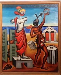 το έργο Δήλος του Νίκου Εγγονόπουλου στην Εθνική Πινακοθήκη