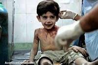 Niño muere producto de la Guerra en Siria