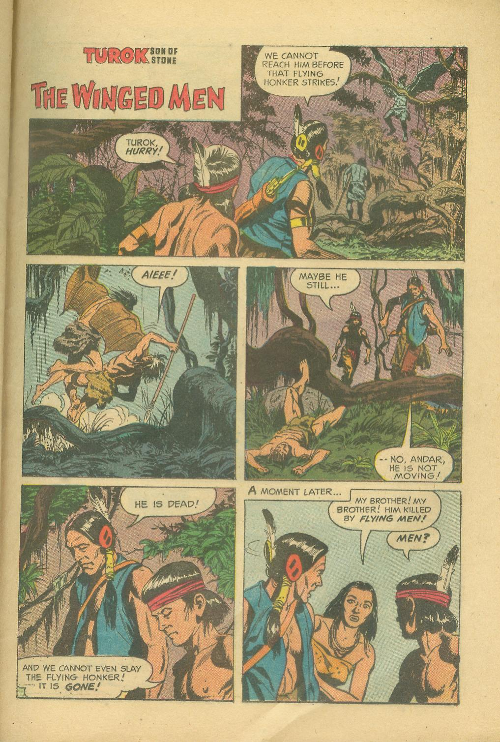 Read online Turok, Son of Stone comic -  Issue #25 - 25