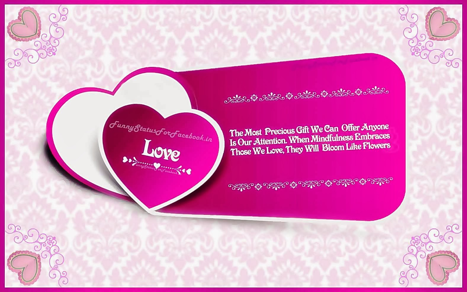 Valentines Love Quotes Special Love Quotes Love Quote Wallpapers For Desktop For Her