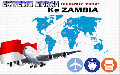 JASA EKSPEDISI MURAH KURIR TOP KE ZAMBIA