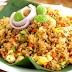 Contoh Procedure text How To make Fried Rice atau Nasi goreng dalam bahasa inggris  Beserta artinya
