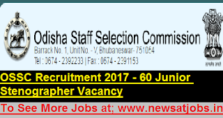 ossc-stenographer-post-Recruitment