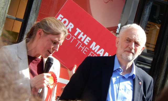 Rachael Maskell and Jeremy Corbyn