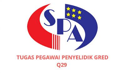 Gaji, Kelayakan & Tugas Pegawai Penyelidik Gred Q29