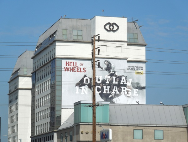 Hell on Wheels season 3 billboard