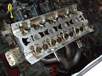 Rover 25 1.4 K series head with tappets and valves