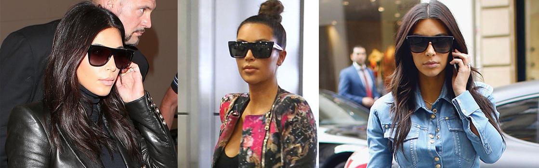 06bf1123c14d6 Kim Kardashian s Classic Celine Sunglasses!   Kardashian sKloset