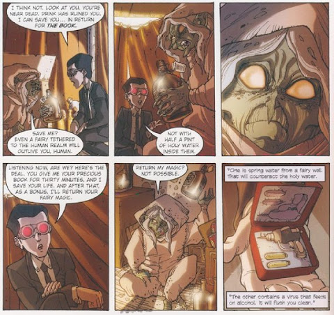 Sample page 1 of Artemis Fowl: The Graphic Novel