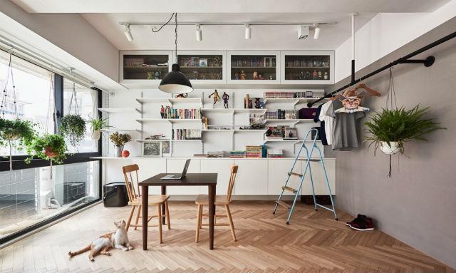 reforma piso pequeño transformado en loft