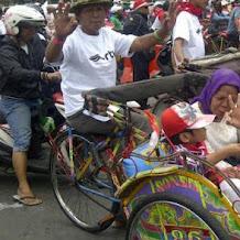Maju kotanya bahagia warganya Anies akomodir becak boleh beroperasi di Jakarta