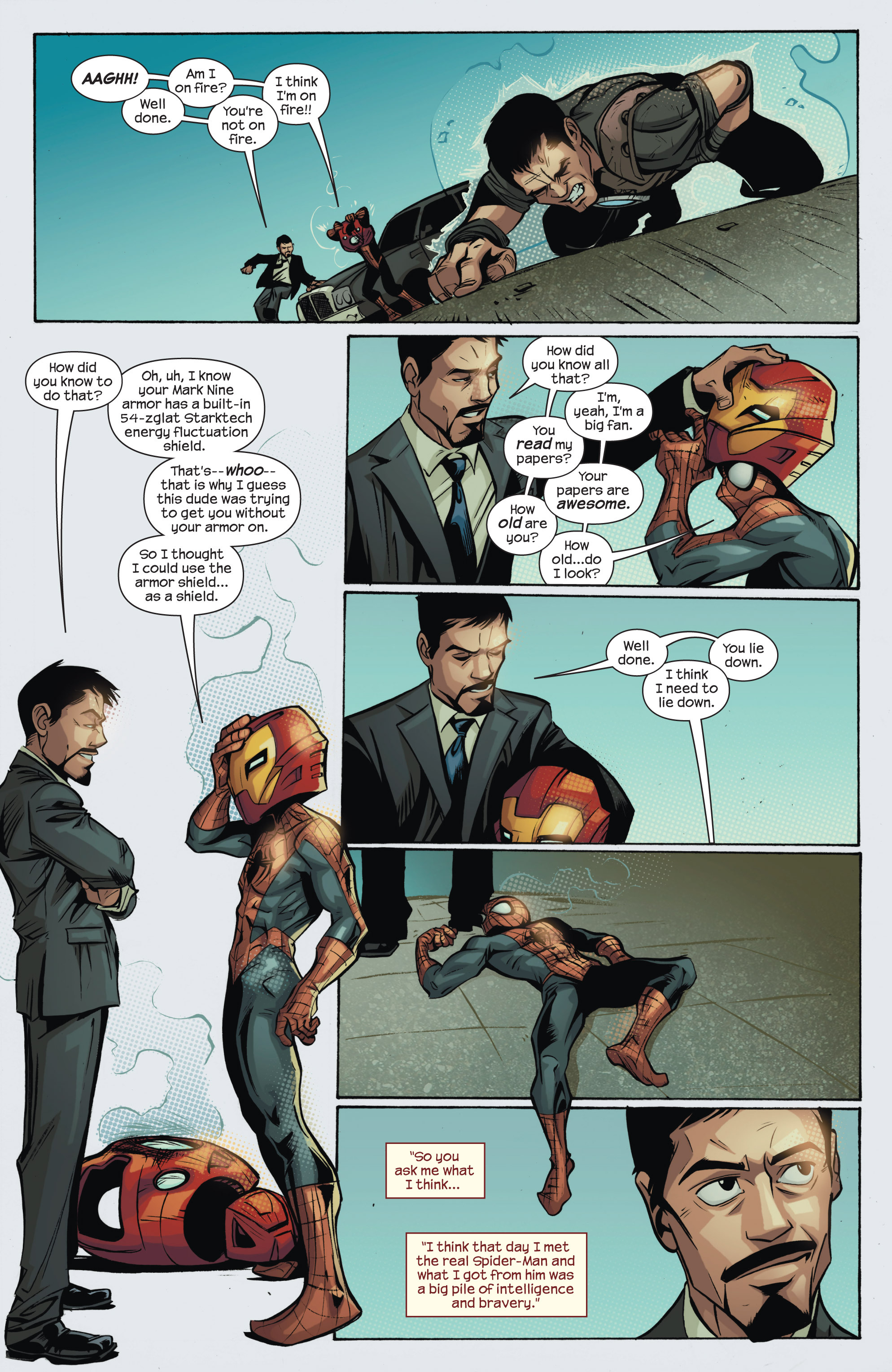 Read online Ultimate Spider-Man (2009) comic -  Issue #150 - 15