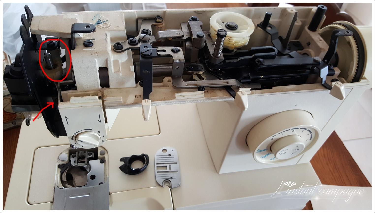 L 39 instant campagne br ves d 39 atelier 1 ma machine a - Comment mettre une canette dans une machine a coudre singer ...