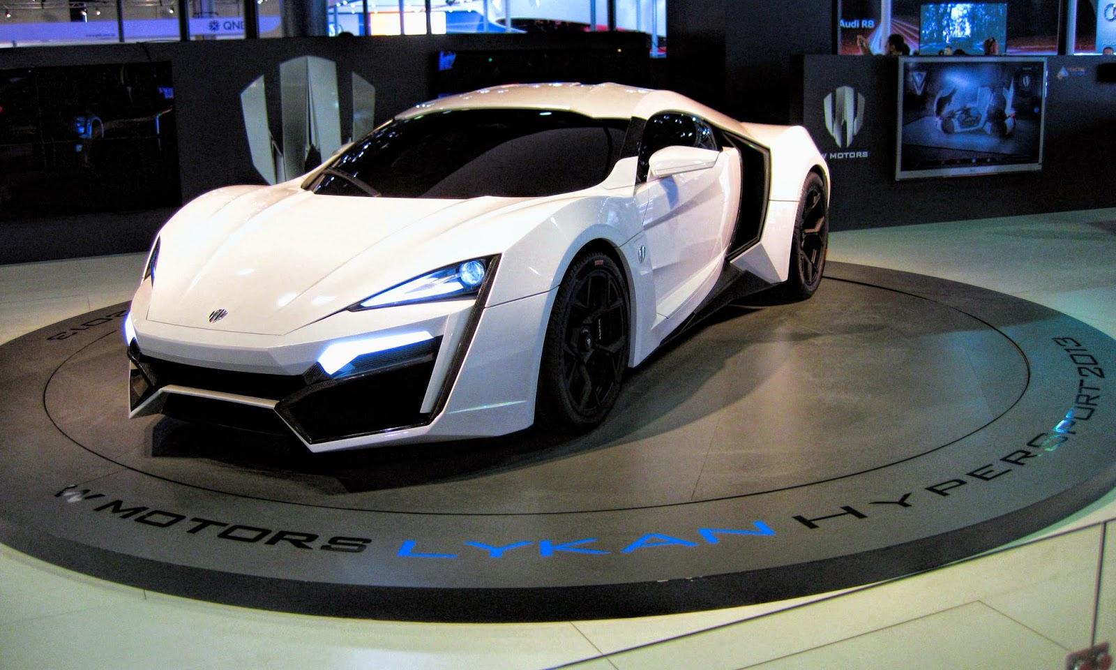 Lykan Hypersport Super Car