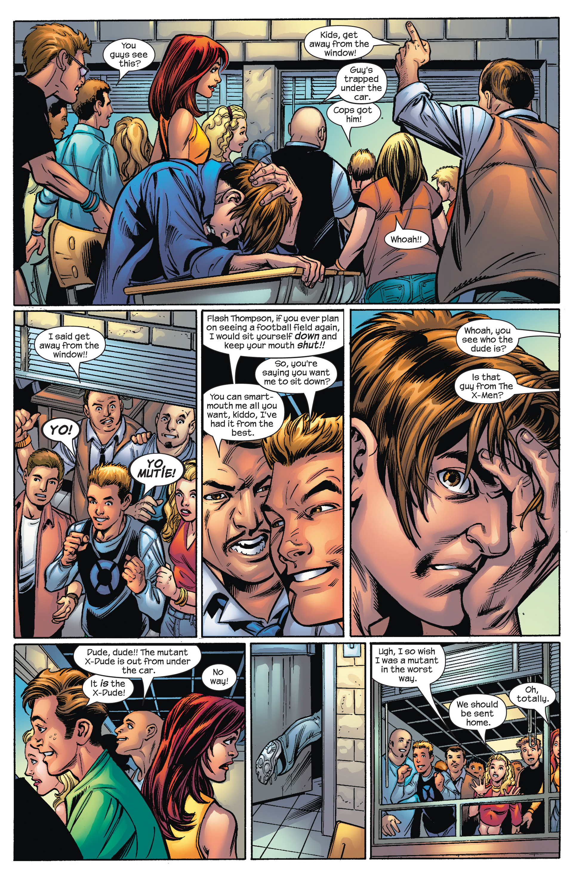 Read online Ultimate Spider-Man (2000) comic -  Issue #67 - 4