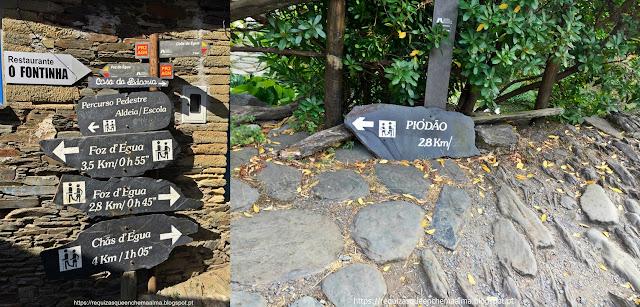 Piódão a Foz d'Égua pelos percursos pedestres