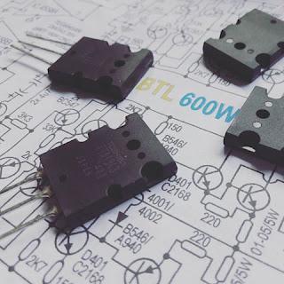 Transistor C5200 A1943 Power Amplifier