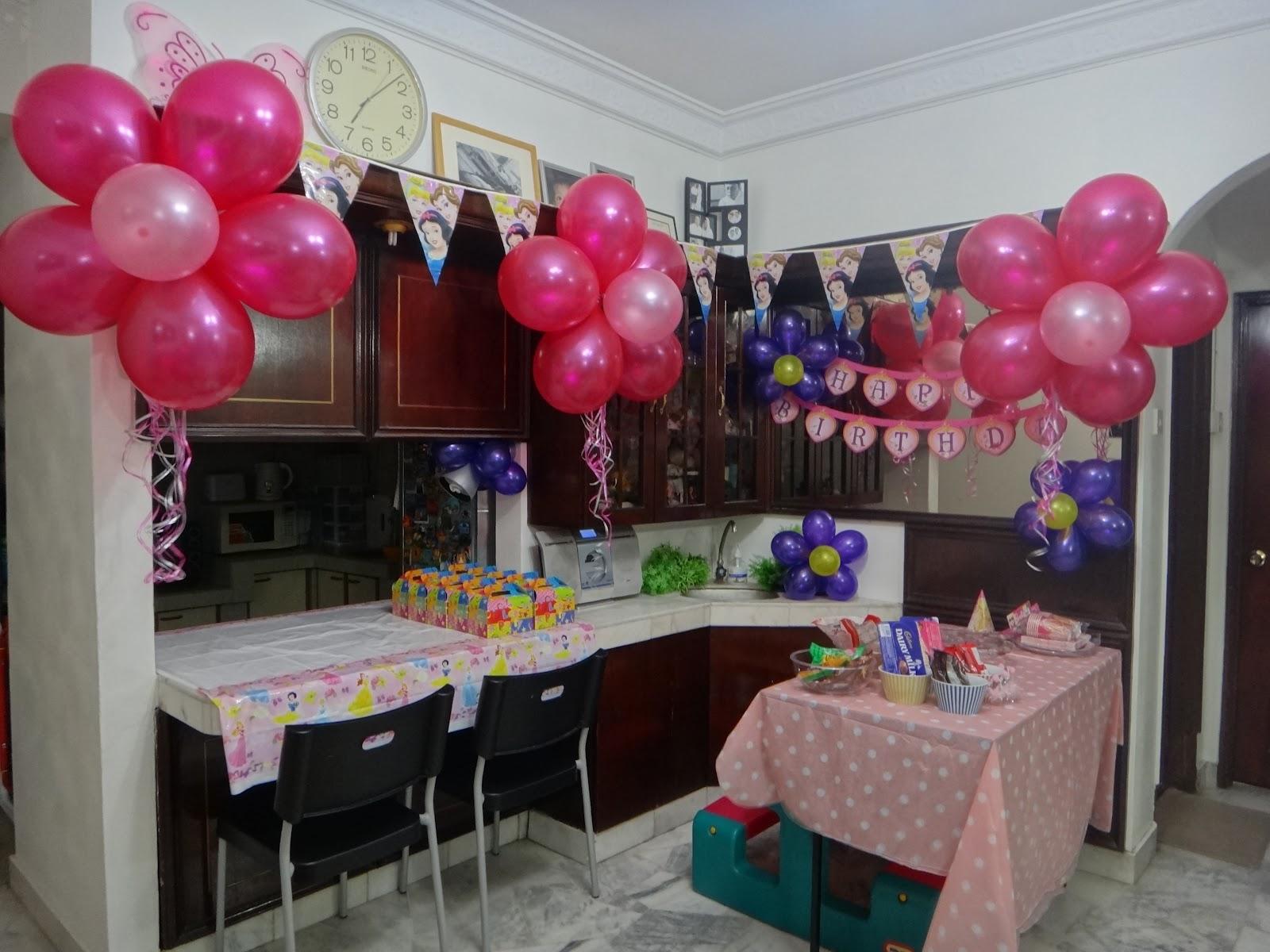 Made By Nisya: DIY Birthday Decoration