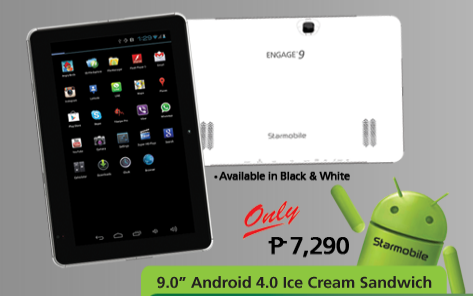 Starmobile Engage 9 Android Ice Cream Sandwich Tablet
