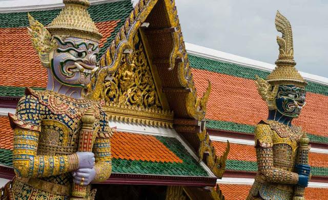 Estatuas Wat Phra Kaew