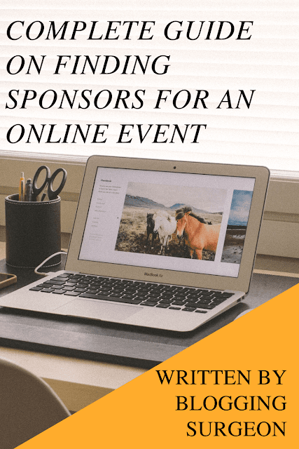 How to Find Sponsors For An Online Event