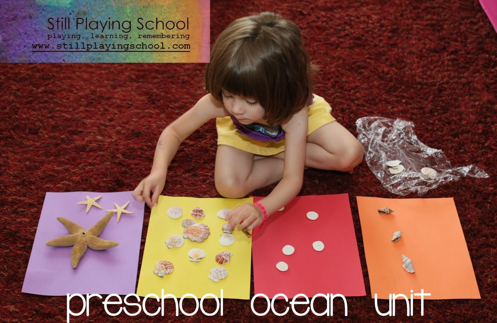 Our Preschool Ocean And Beach Theme